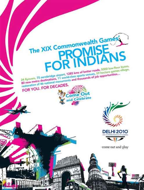 commonwealth games 2010. 59 hectare games village