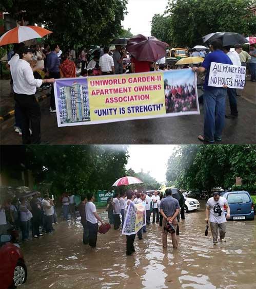 Uniworld Garden 2 Protests