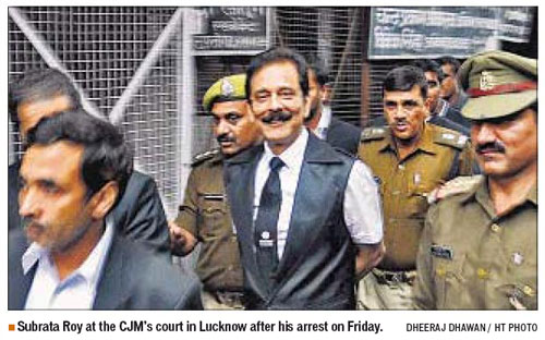 Subrata Roy Going to Court