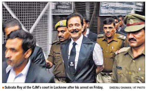 Subrata Roy Going to Court